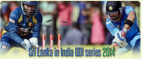 India vs Sri Lanka Cricket Series 2014