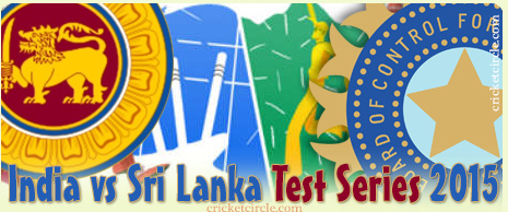 India vs Sri Lanka Cricket Series 2015